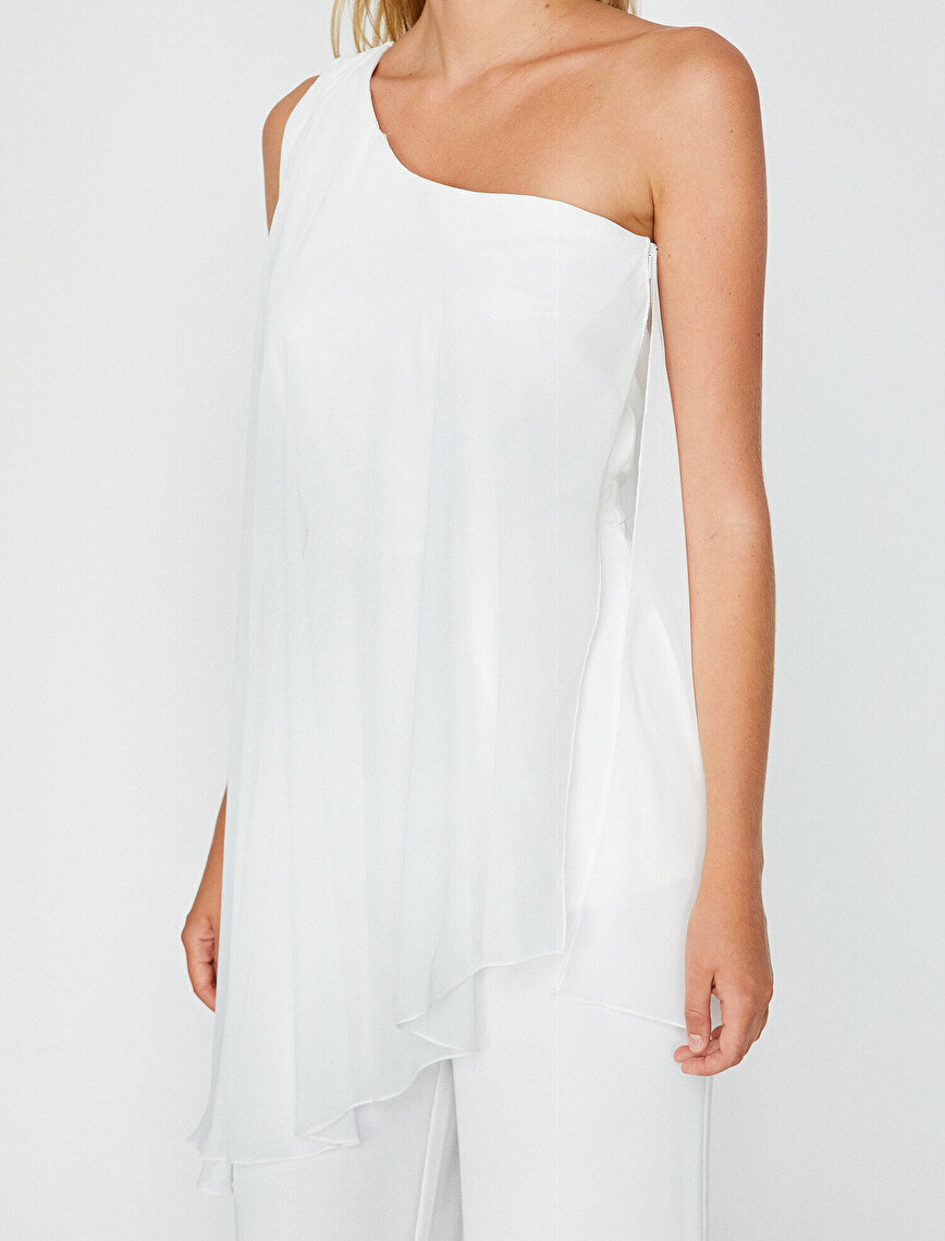 Tulle Detailed Jumpsuit
