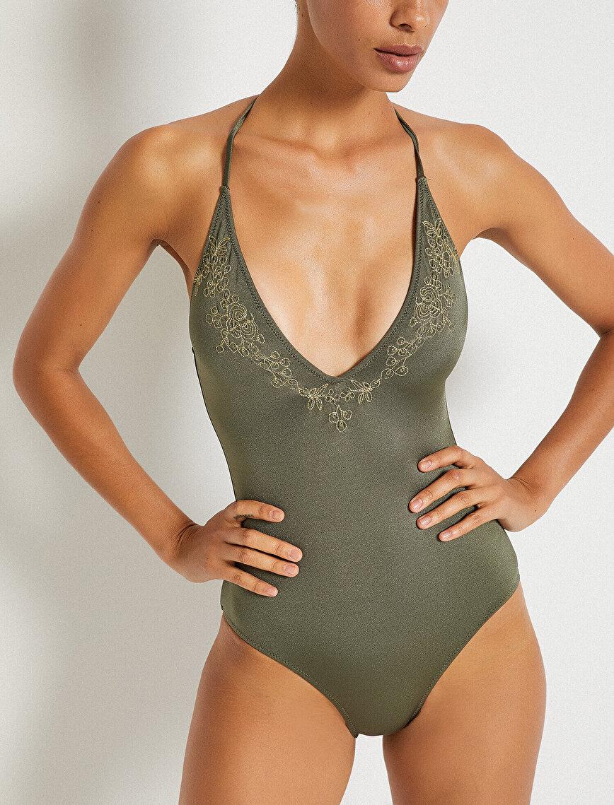 Embellished Swimsuit