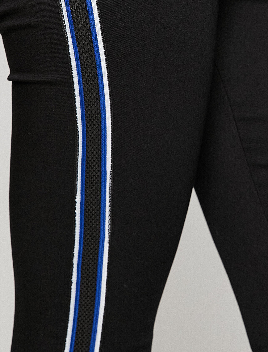Piping Detailed Trousers