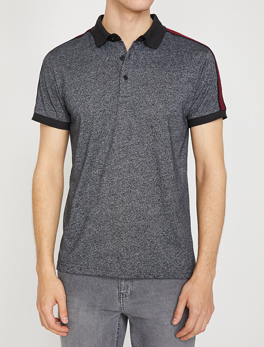 Biye Detaylı T-Shirt