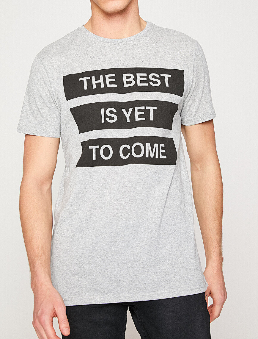Letter Printed T-Shirt