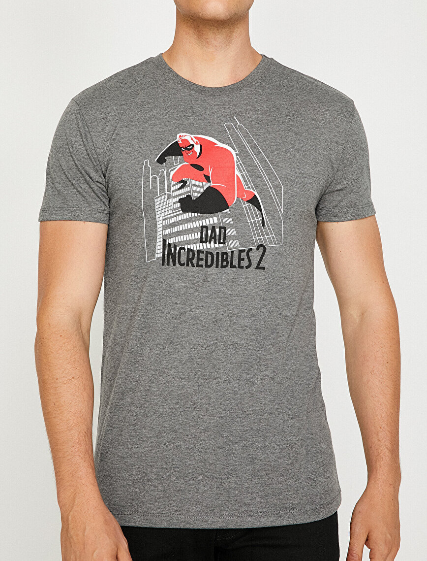 Incredibles Licensed Printed T-Shirt