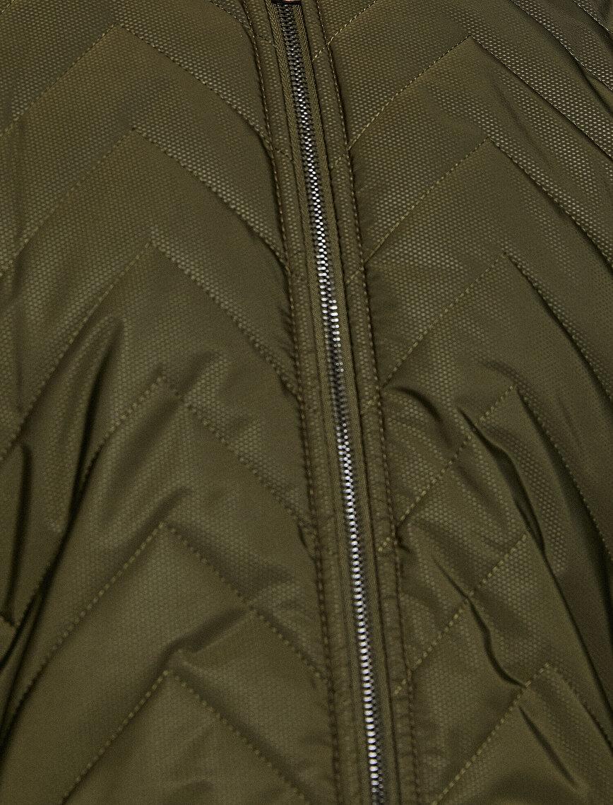 Zipper DetailedCoat