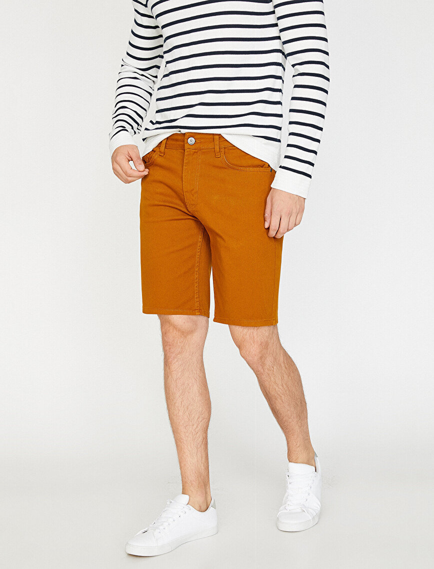 Pocket Detailed Chino Short