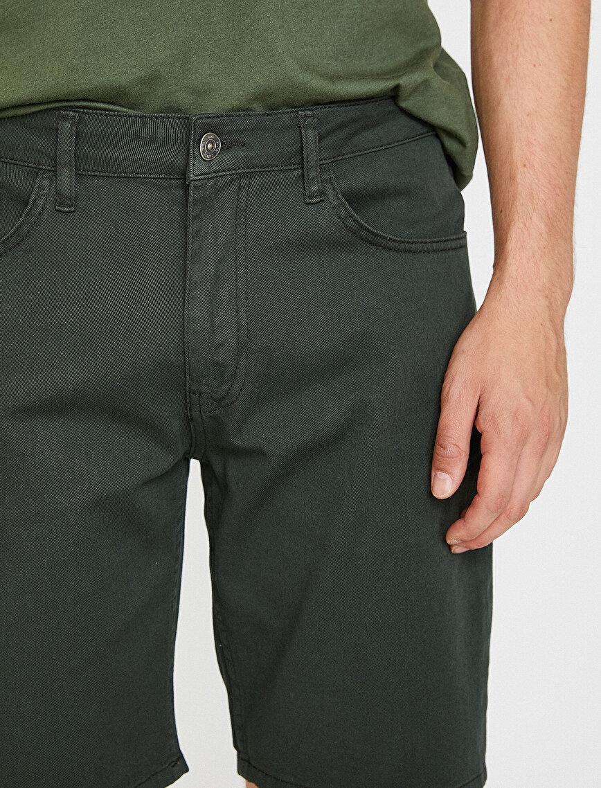 Pocket Detailed Chino Short