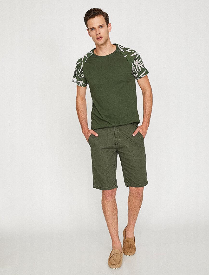 Medium Rise Shorts