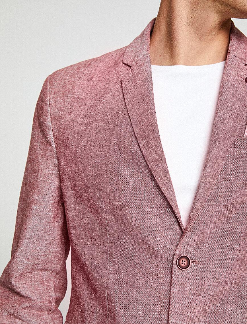 Classic Collar Blazer Jacket
