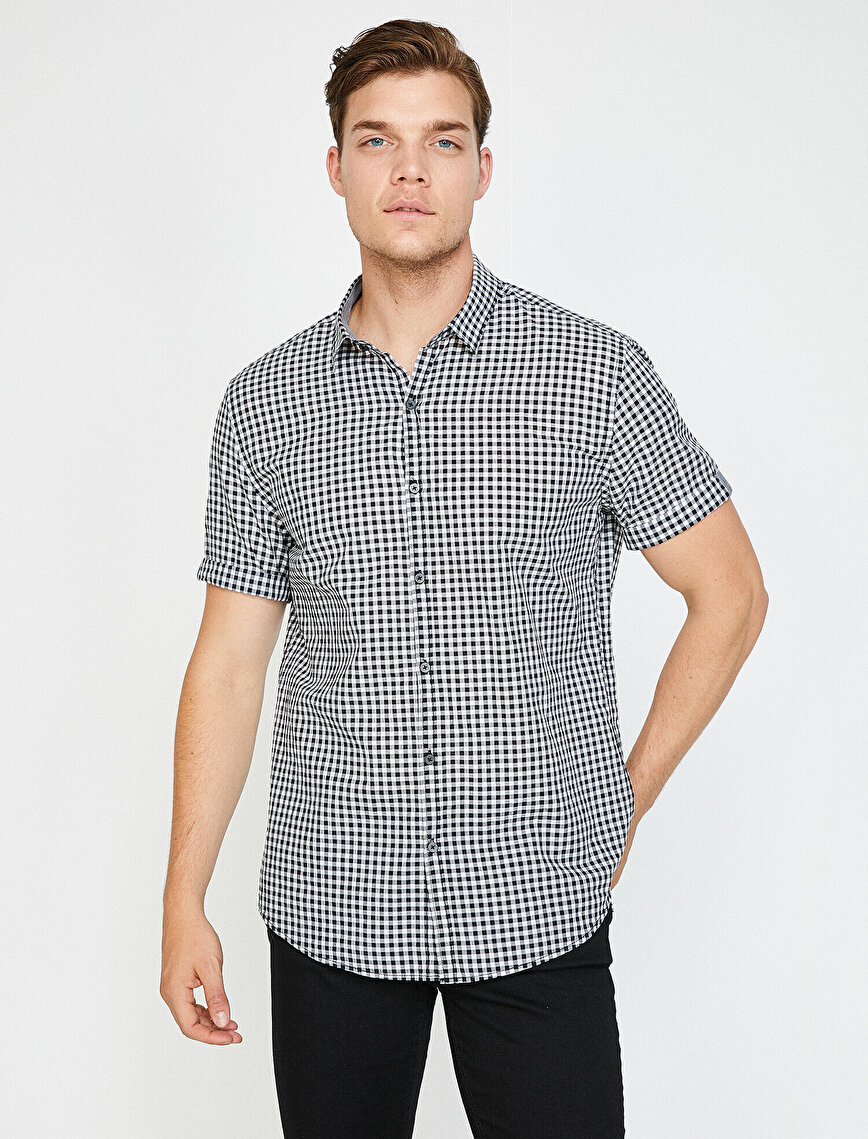 Yazılı Baskılı Gömlek