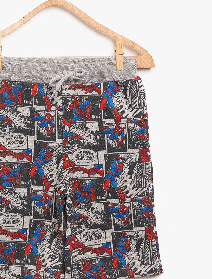 Spiderman Licensed Printed Short