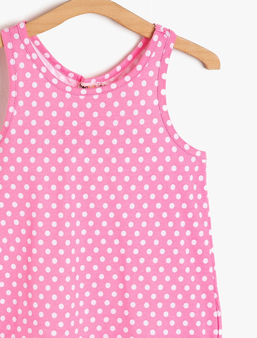 Dotted Detailed Tank Top