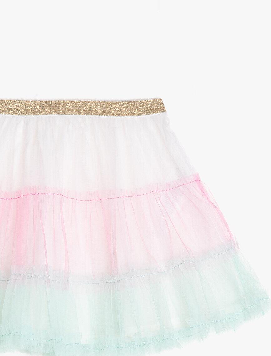 Color Blok Skirt