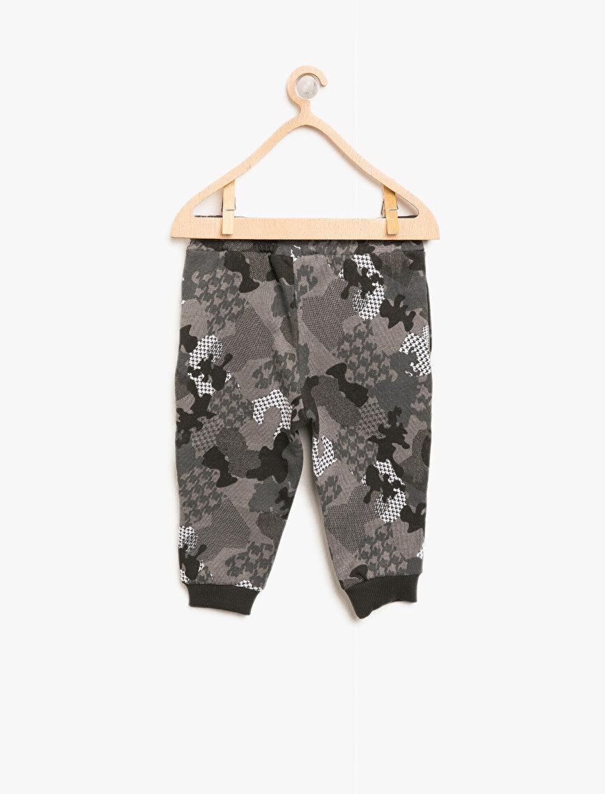 Camouflage Patterned Jogging Pants