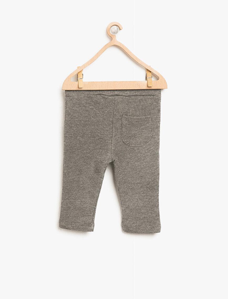 Medium Rise Jogging Pants
