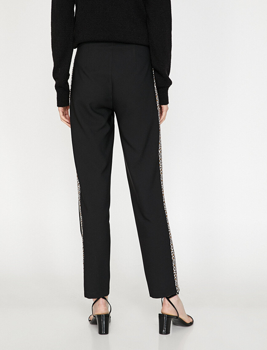 Leopard Banded Trousers