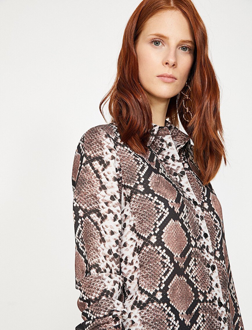 Snake Patterned Shirt