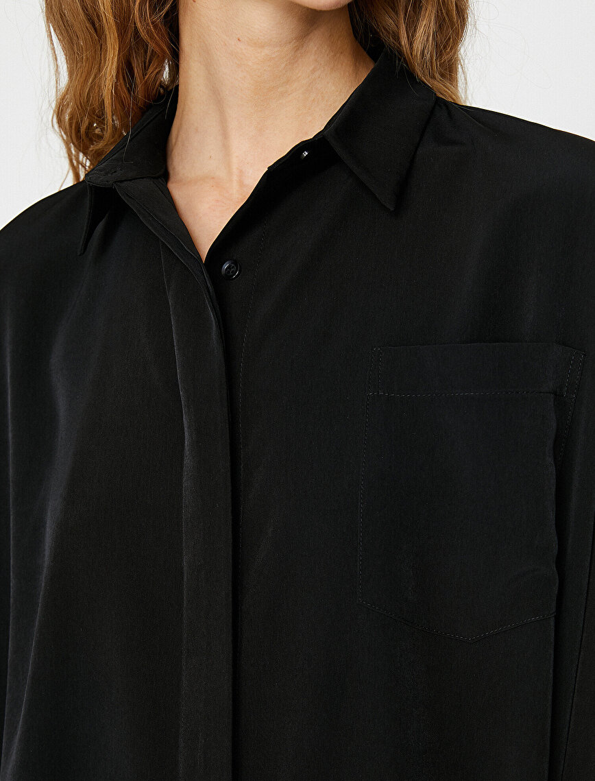 Pocket Detailed Dress