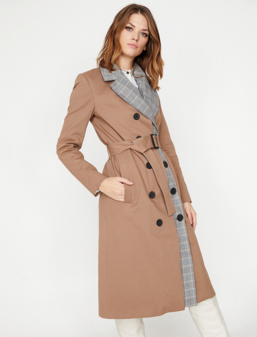 Arzu Sabancı For Koton Trenchcoat