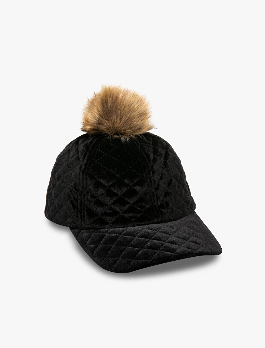 Pom Detailed Hat