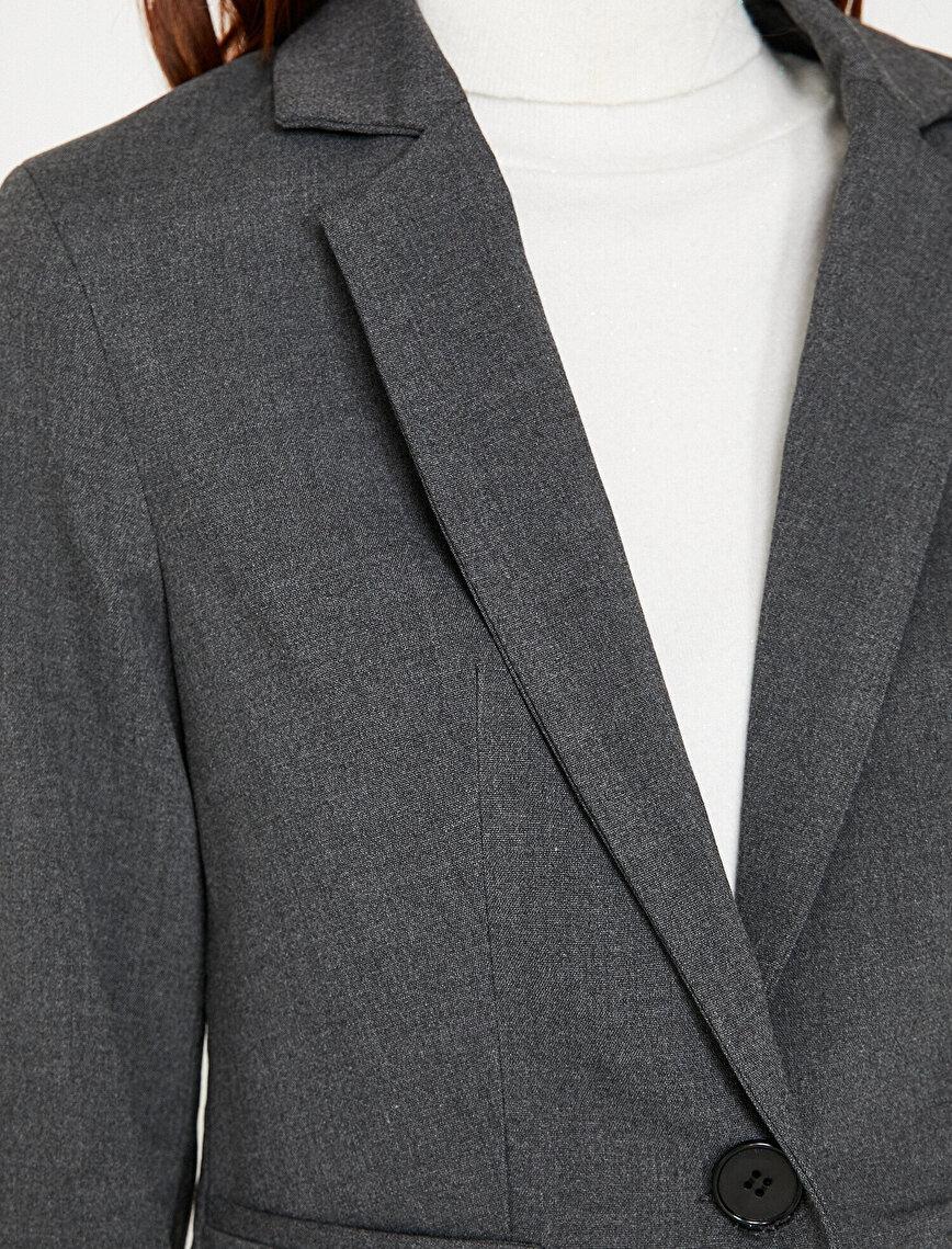 Classic Neck Jacket