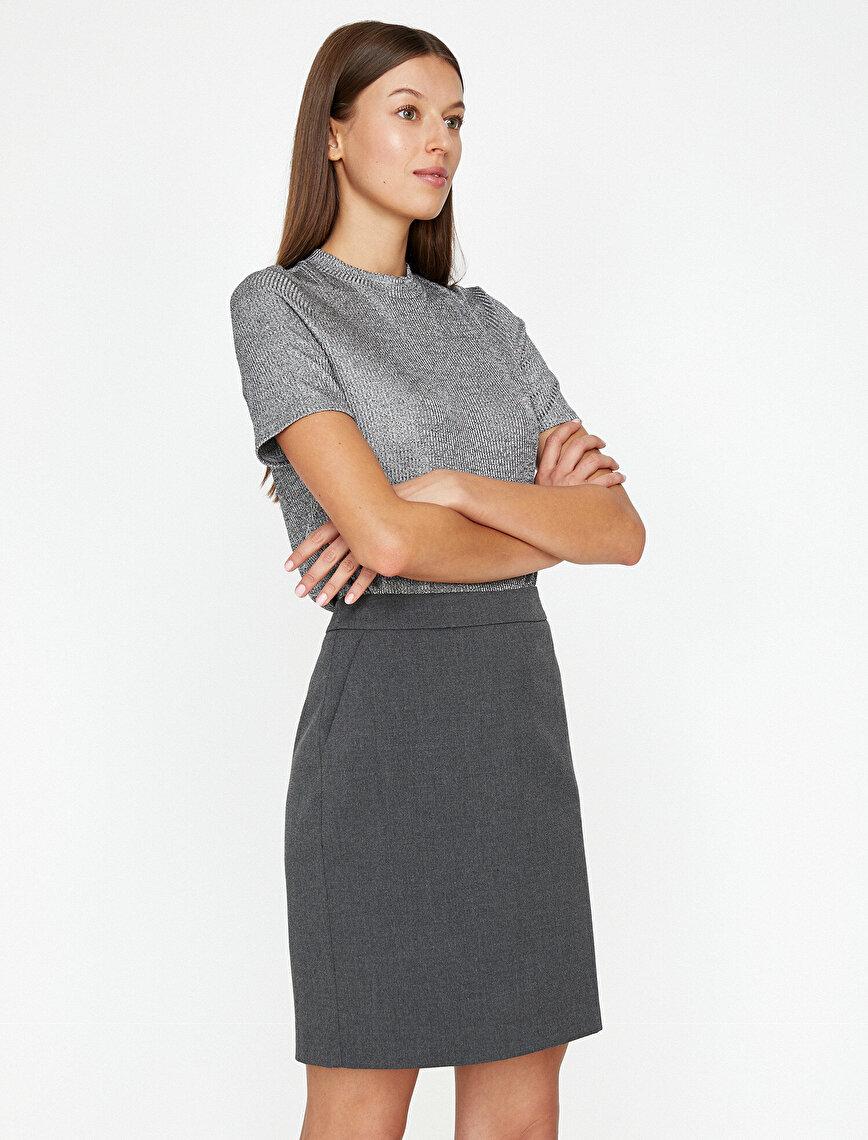 Pocket Detailed Skirt