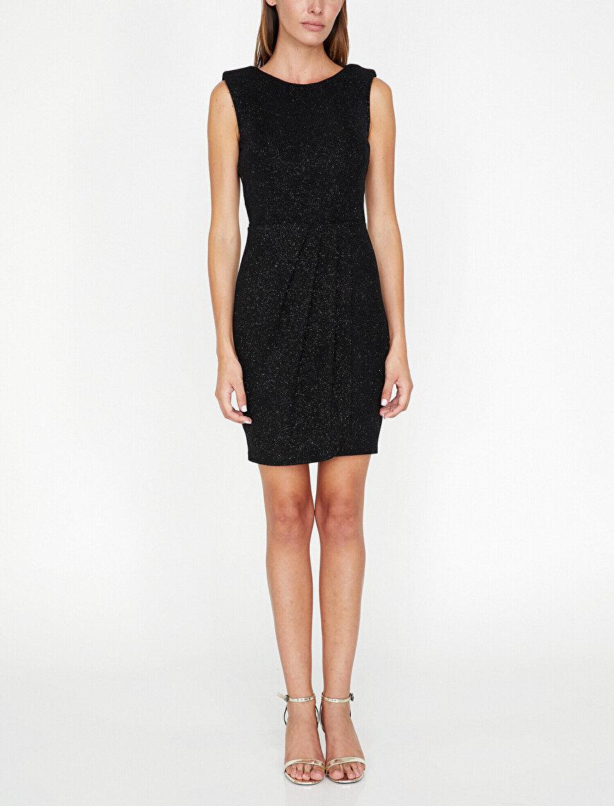 Shimmer Detailed Dress