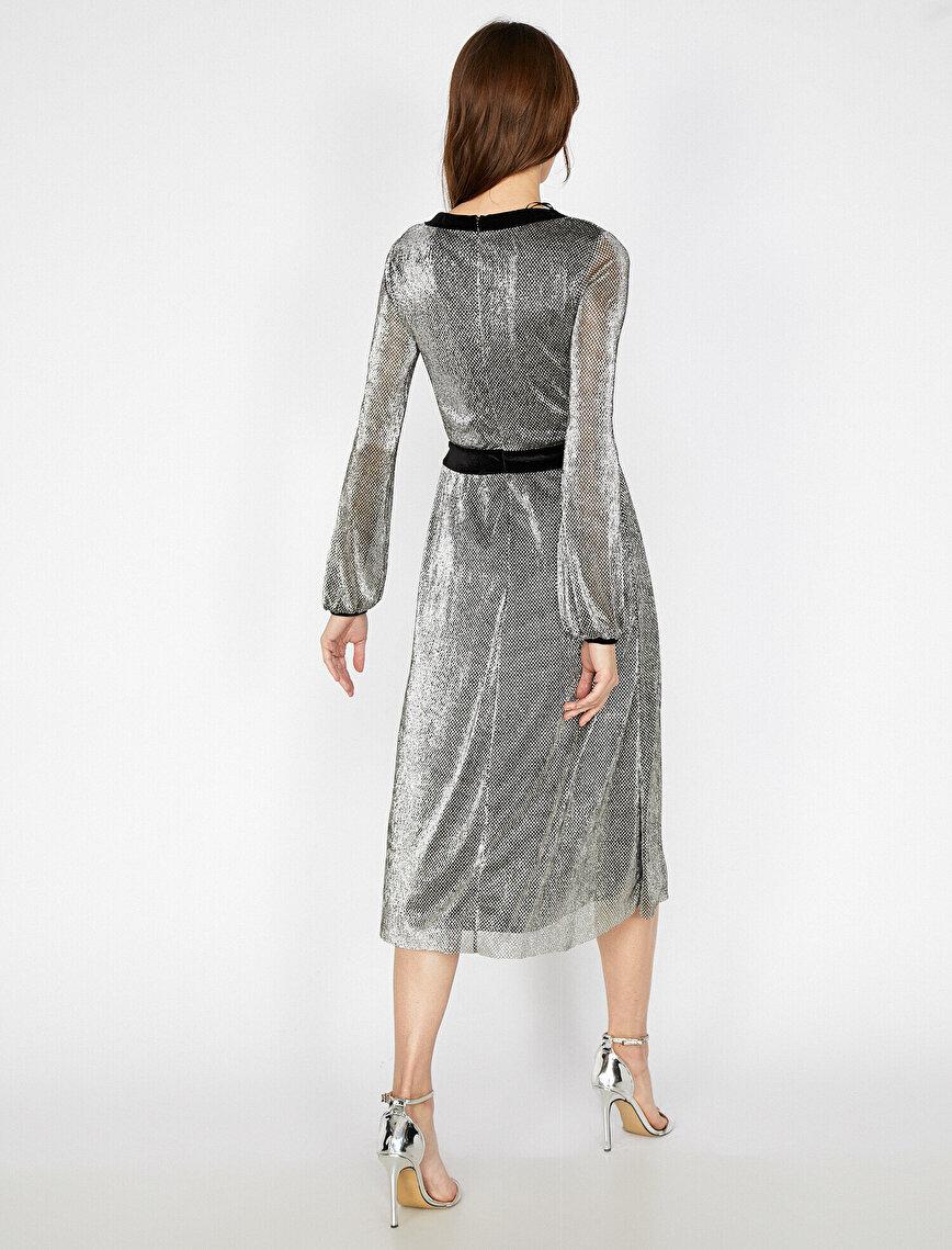 Sequin Detailed Dress