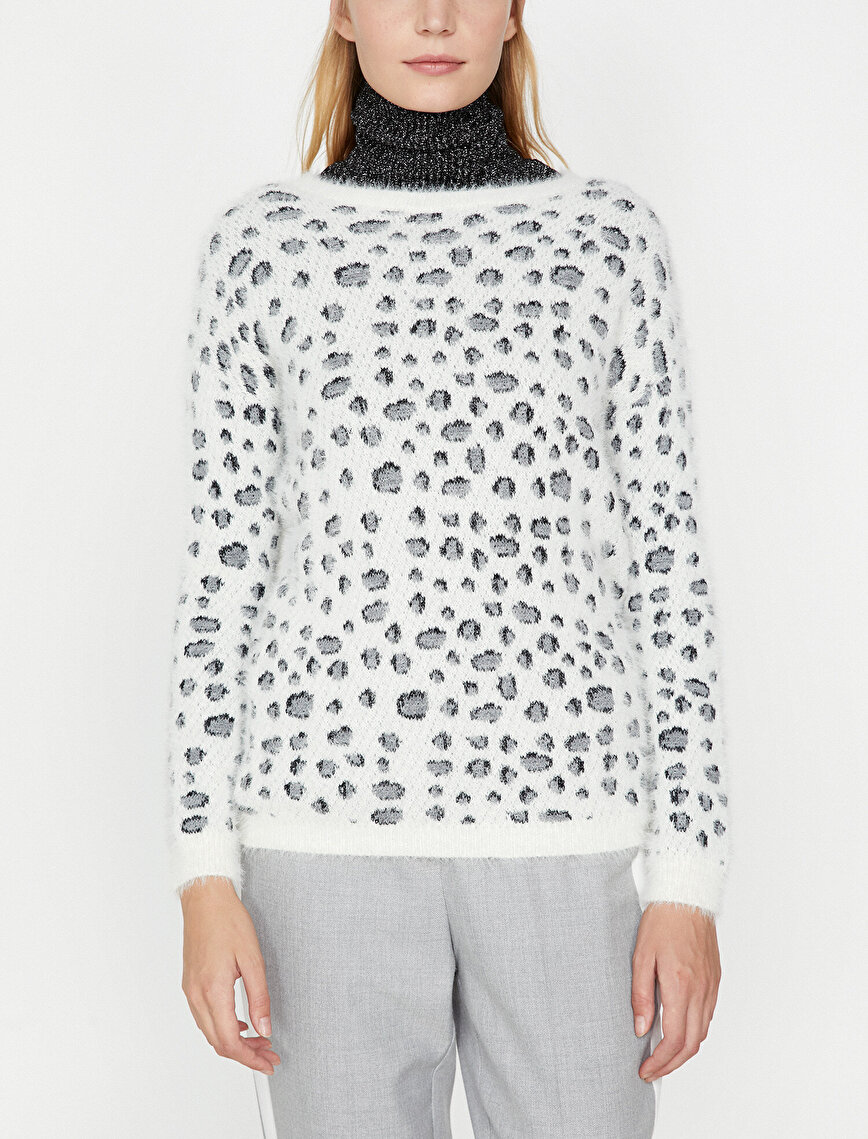 Leopard Patterned Jumper