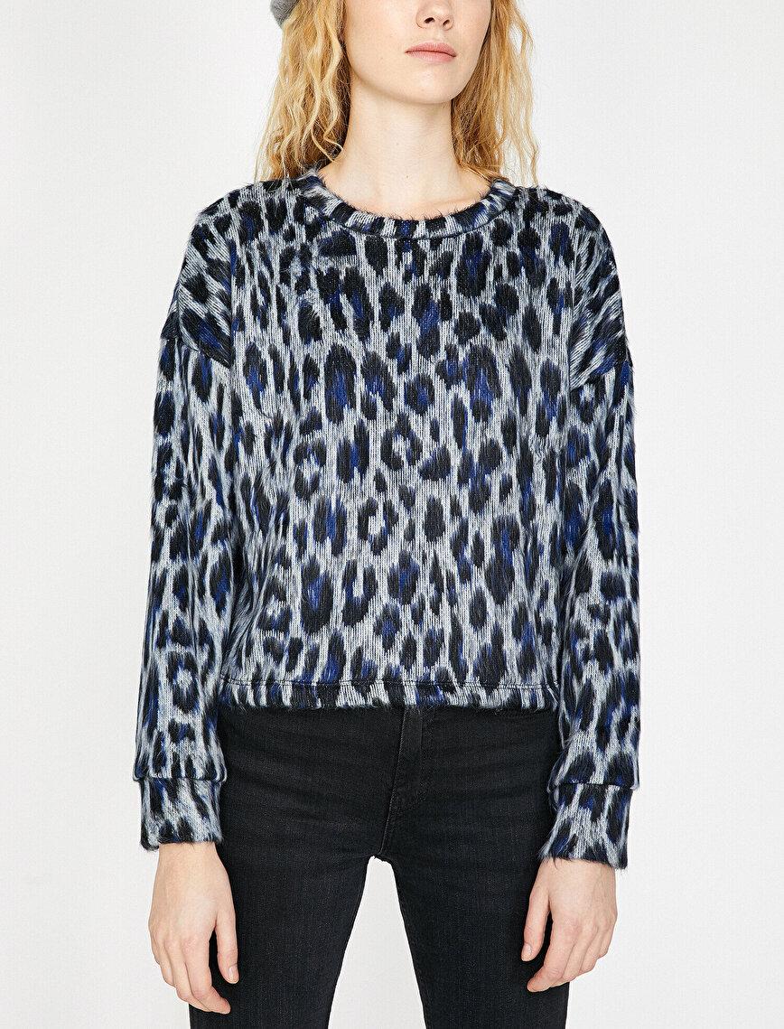 Leopard Patterned Jumper