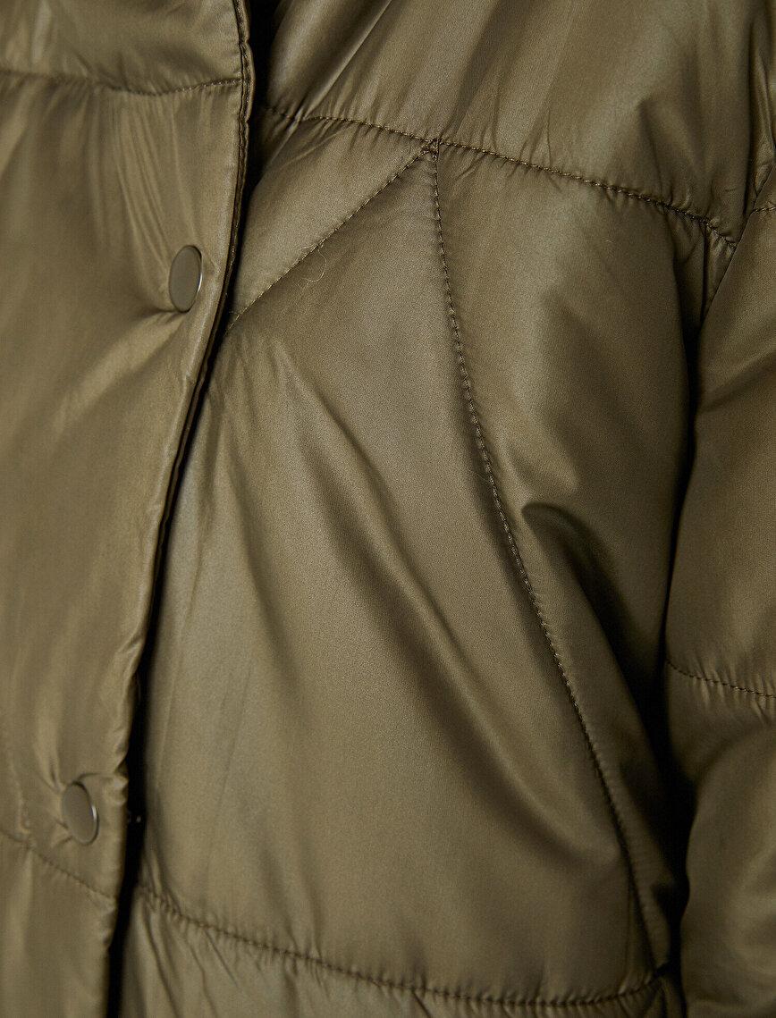 Faux Fur Detailed Coat