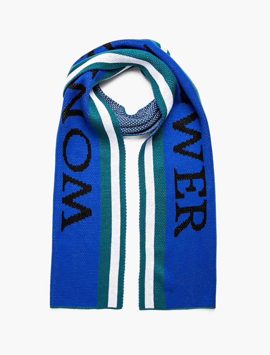 Letter Printed Scarf
