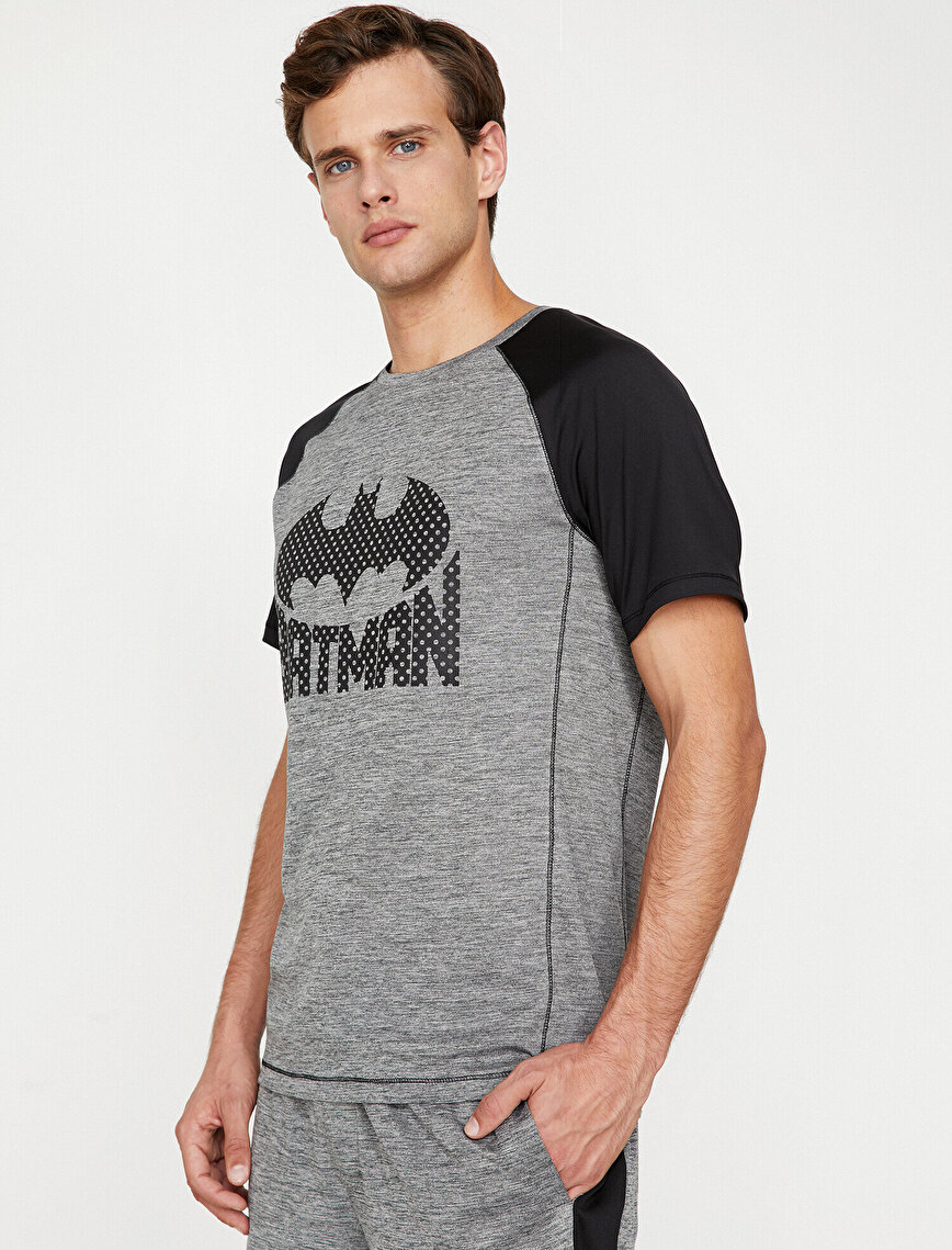 Batman Licensed Printed T-Shirt