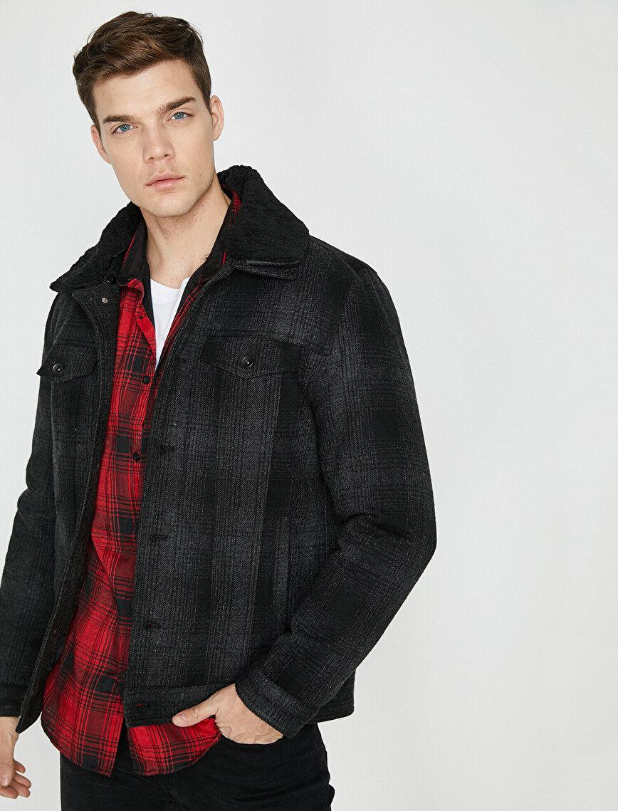 Faur Fux Neck Jacket