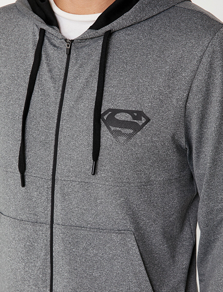Superman Licensed Printed Coat
