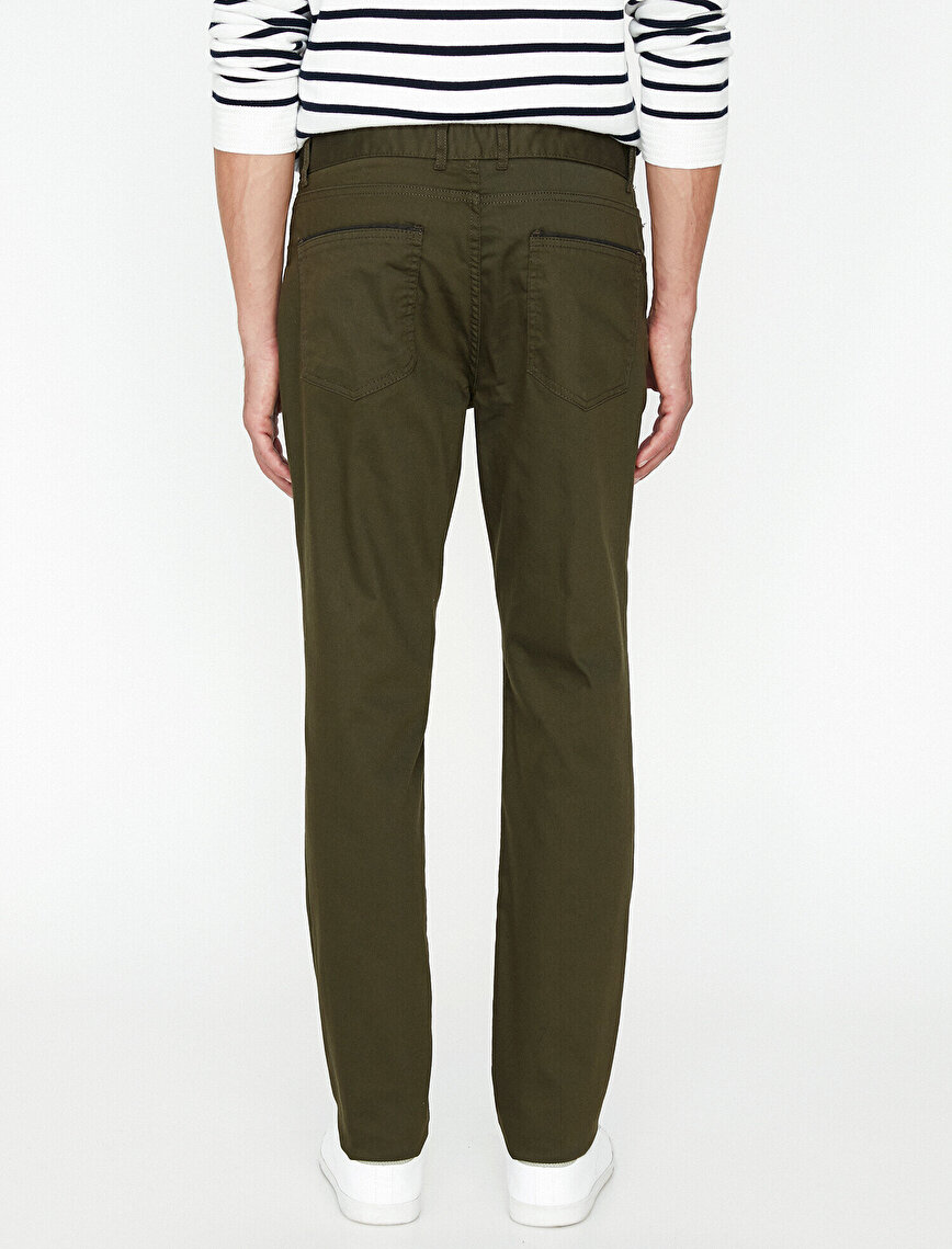 Slim Fit Trousers