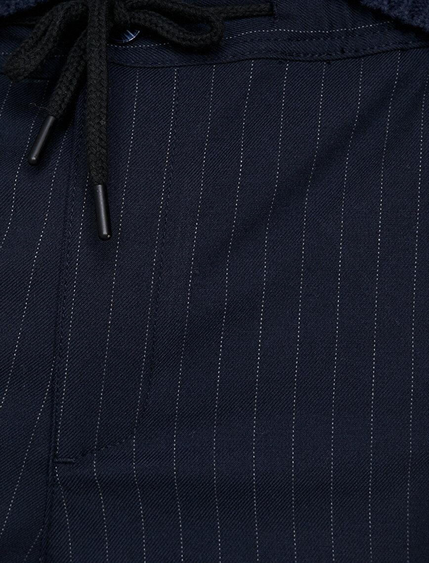 Arzu Sabancı for Koton Striped Trousers