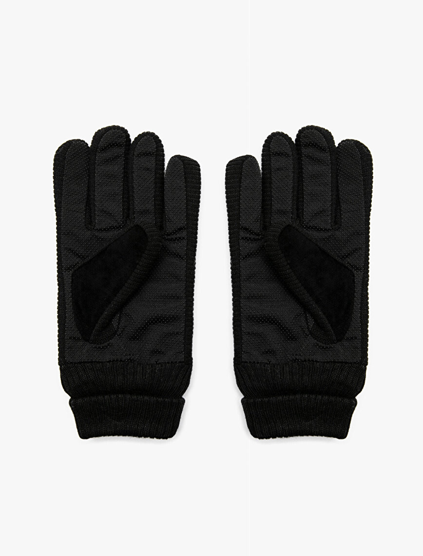 Leather Look Gloves