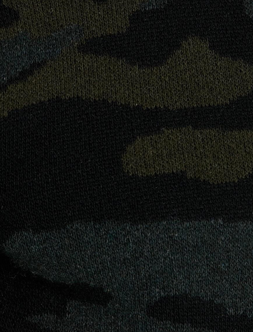 Camouflage Patterned Jumper