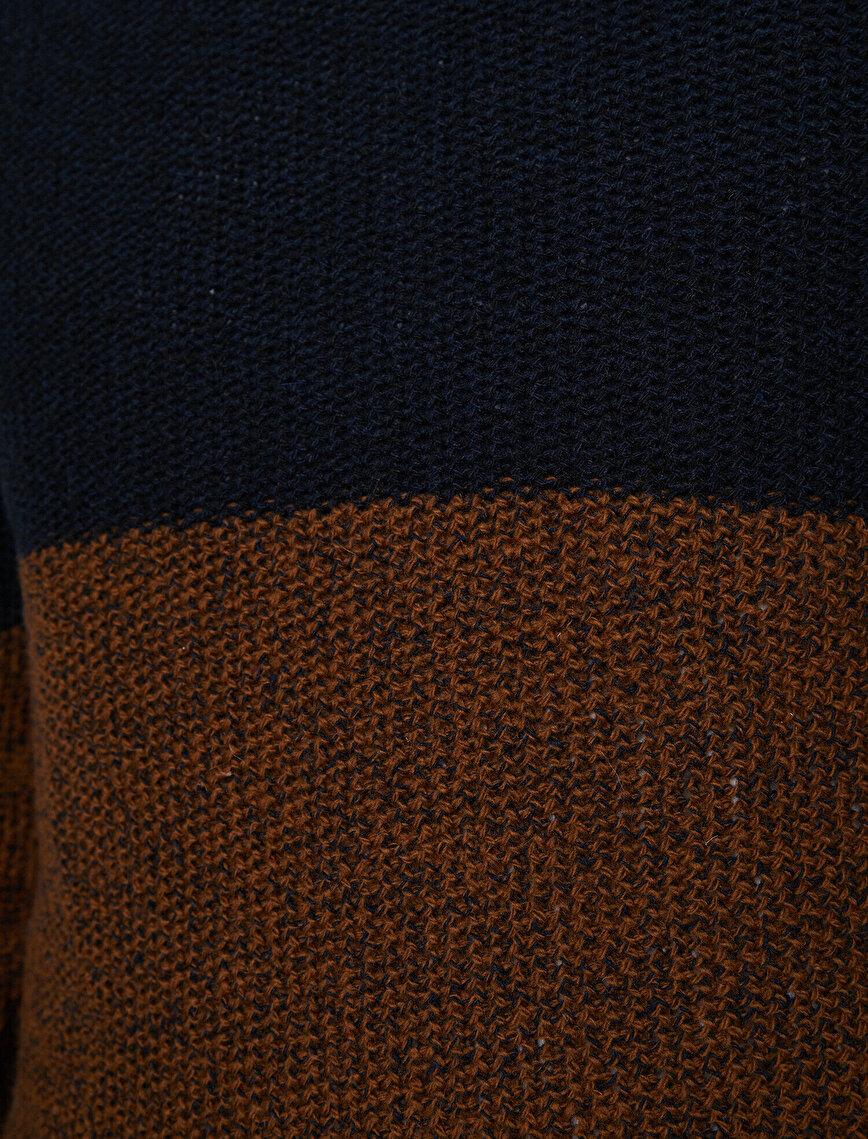 Color Block Jumper