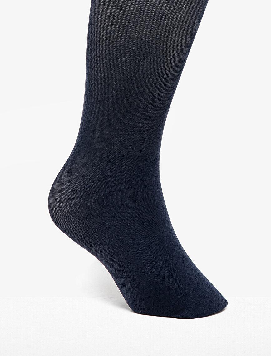 Düz Külotlu Çorap