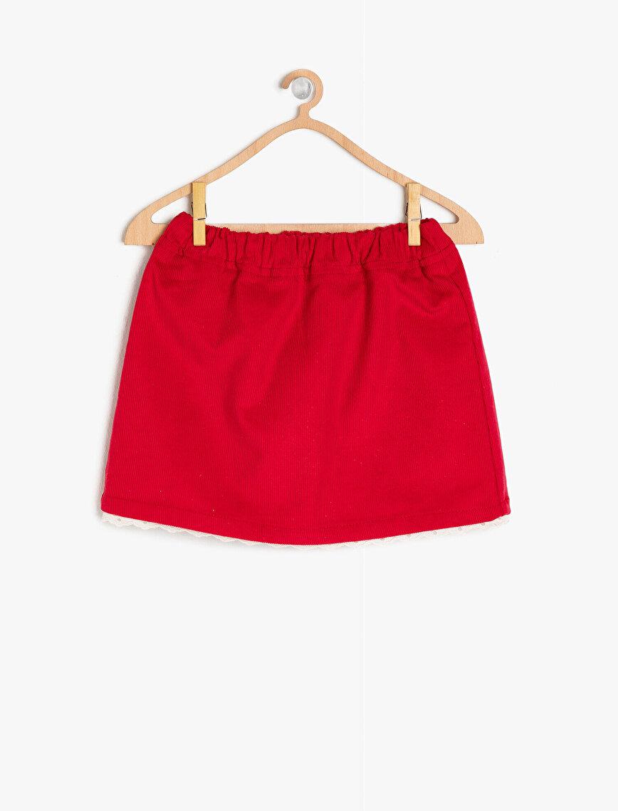 Medium Rise Skirt