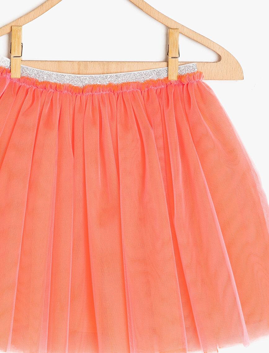 Tulle Detailed Skirt