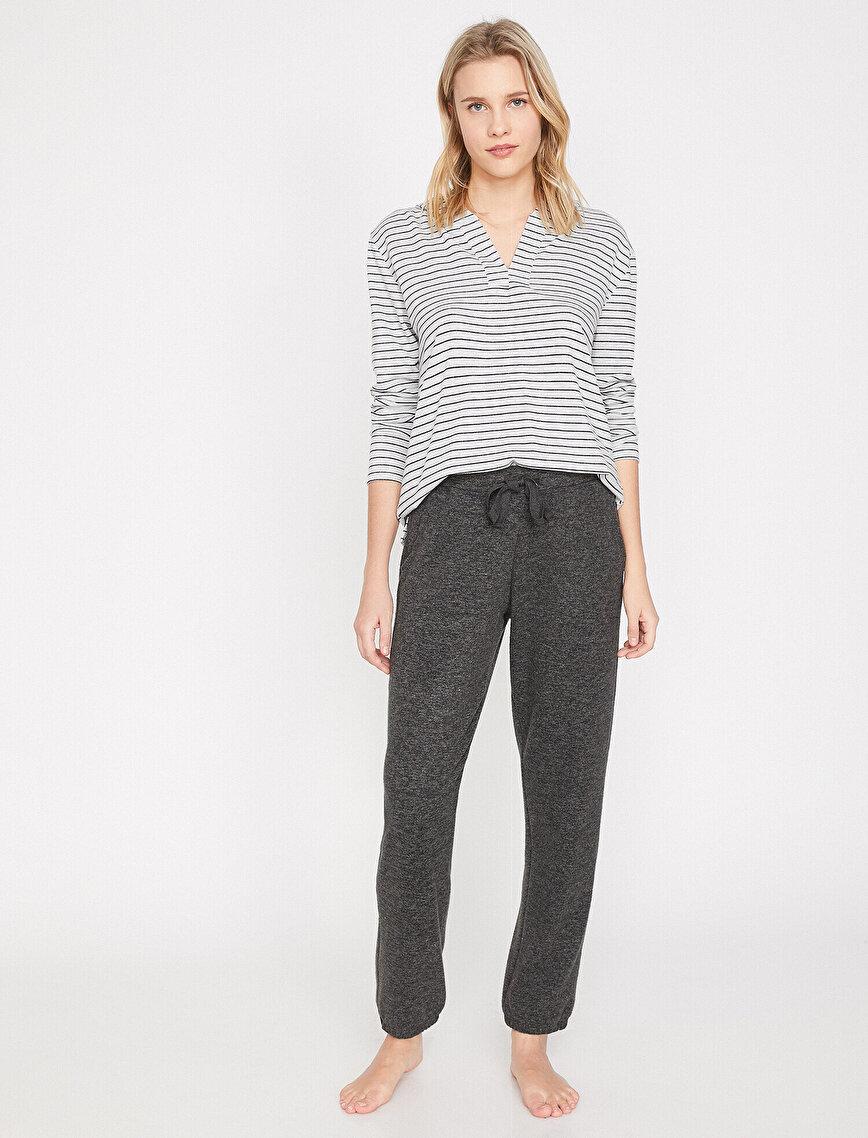 Tie Waist Pyjama Bottom