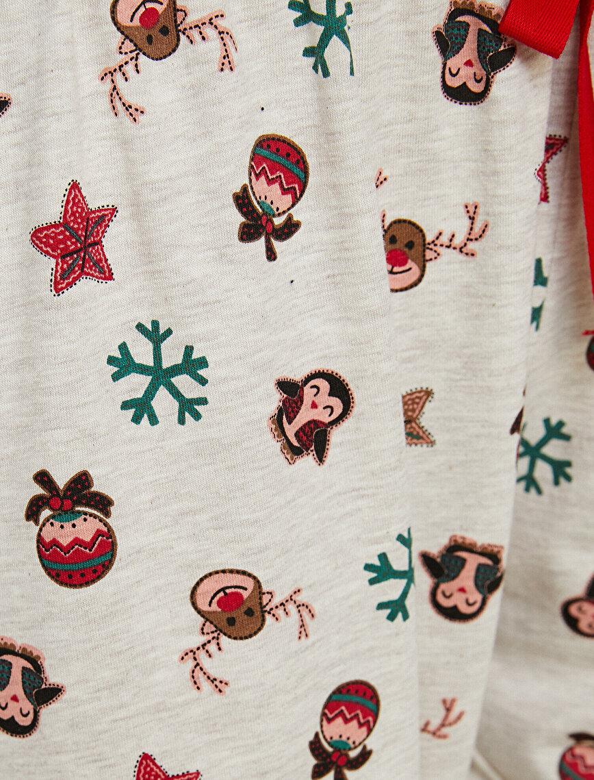 Yılbaşı Temalı Pijama Takımı
