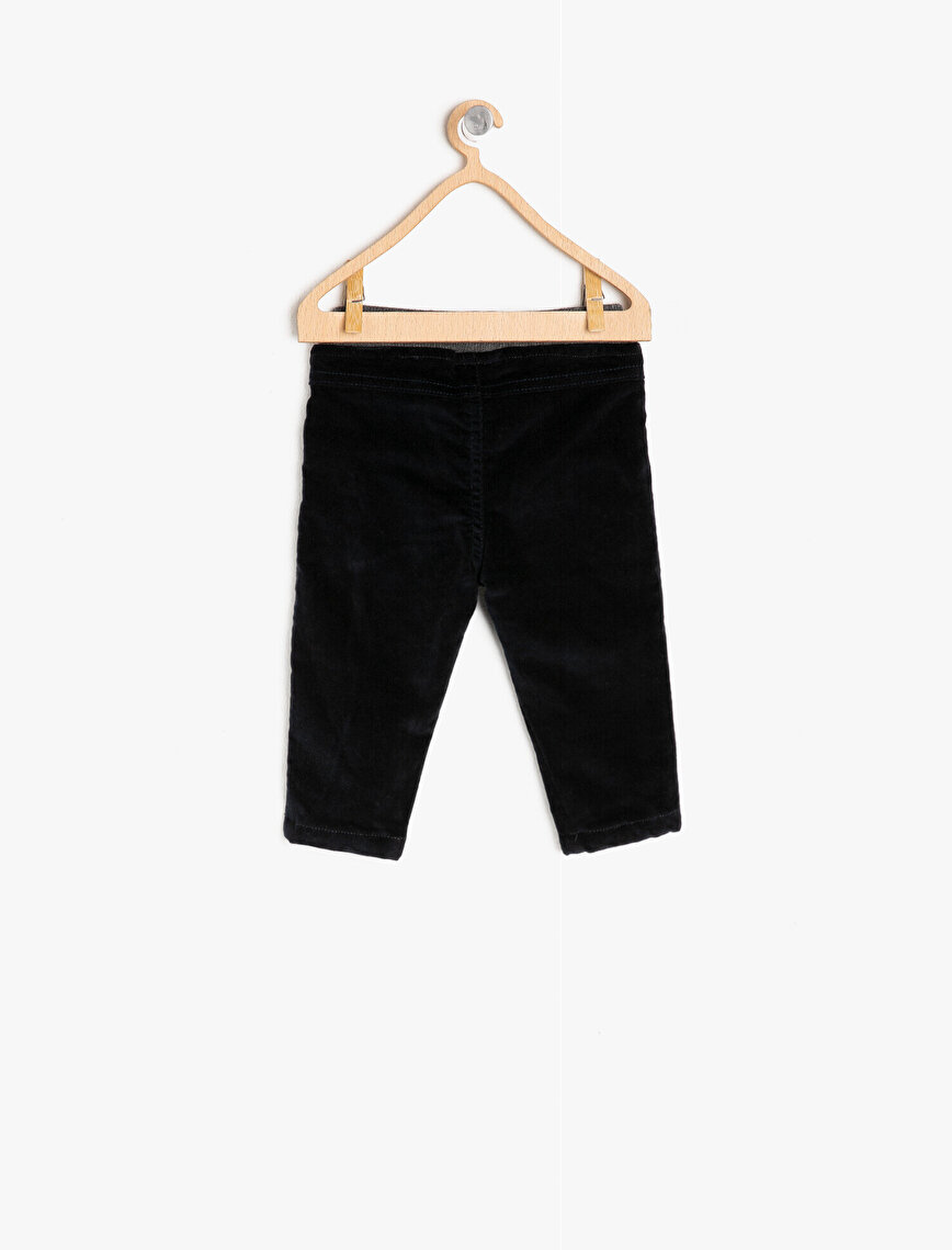 Tie Detailed Trousers