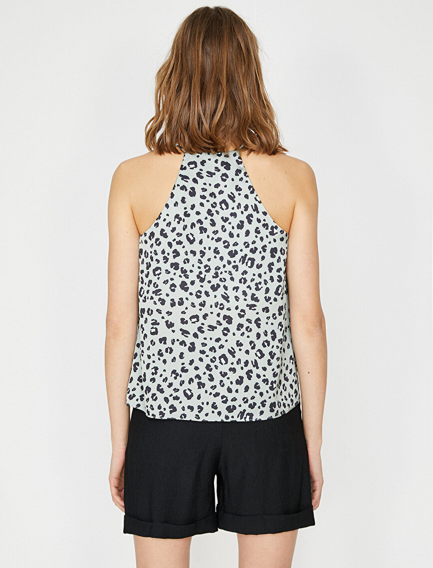 Leopard Patterned Tank Top