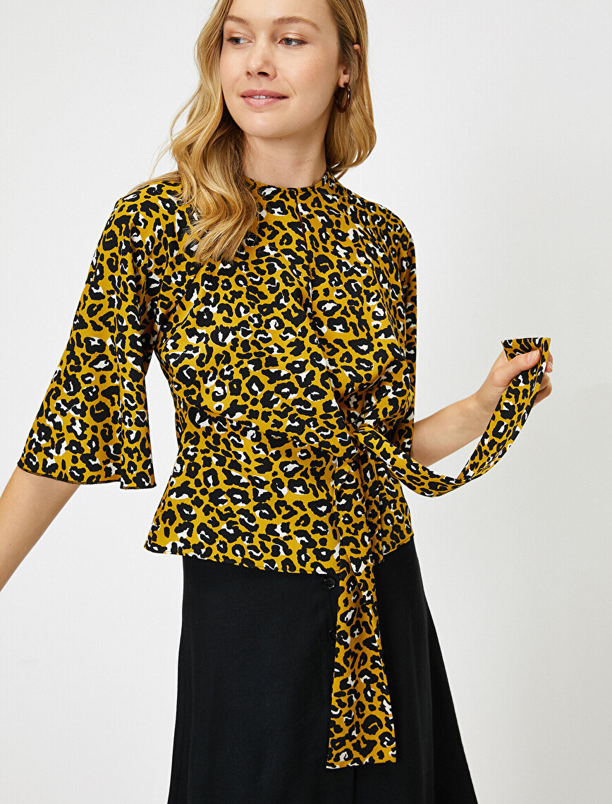 Leopard Patterned Blouse