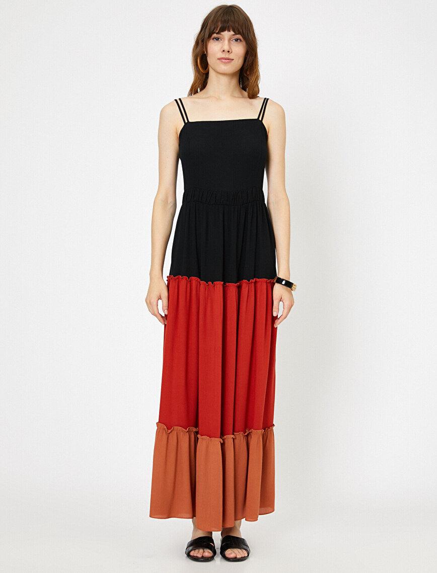 Color Blook Dress