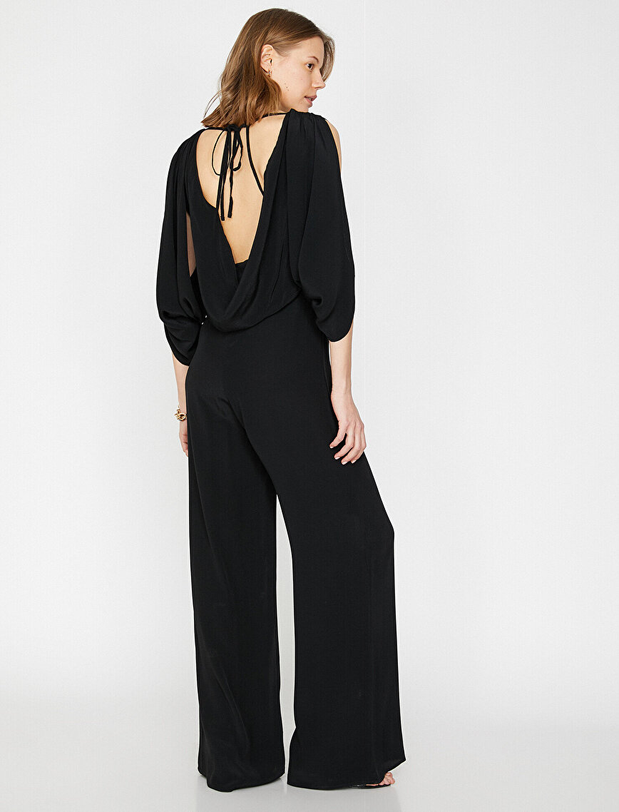 Sleeve Detailed Jumpsuits