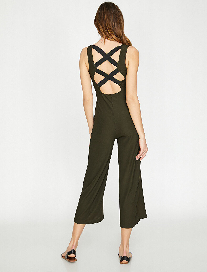 V Neck Jumpsuits