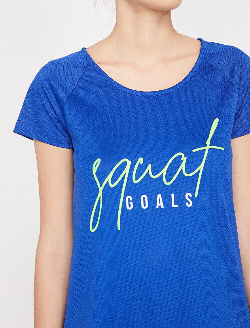 Ebru Şallı Loves Koton Sport T-Shirt